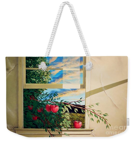 Apple Tree Overflowing Weekender Tote Bag