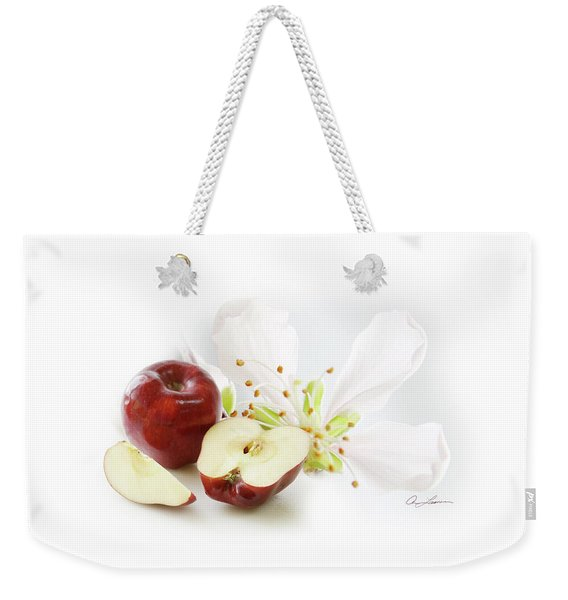 Apples And Blossom Weekender Tote Bag