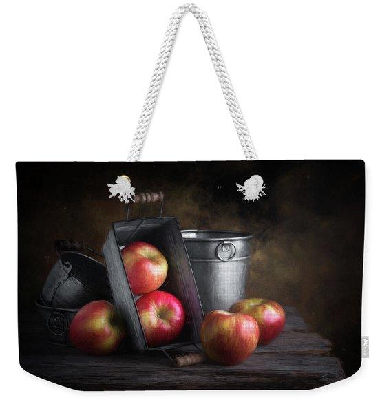 Apples With Metalware Weekender Tote Bag