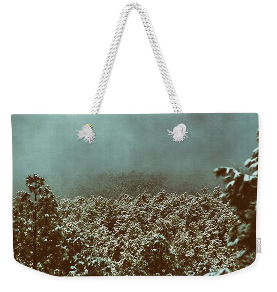 Weekender Tote Bag featuring the photograph Approaching Storm by Jason Coward