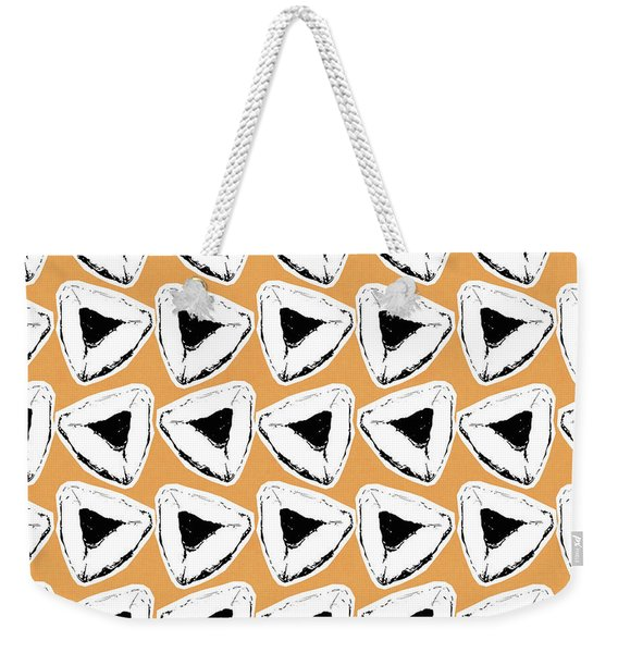 Apricot Hamentashen- Art By Linda Woods Weekender Tote Bag