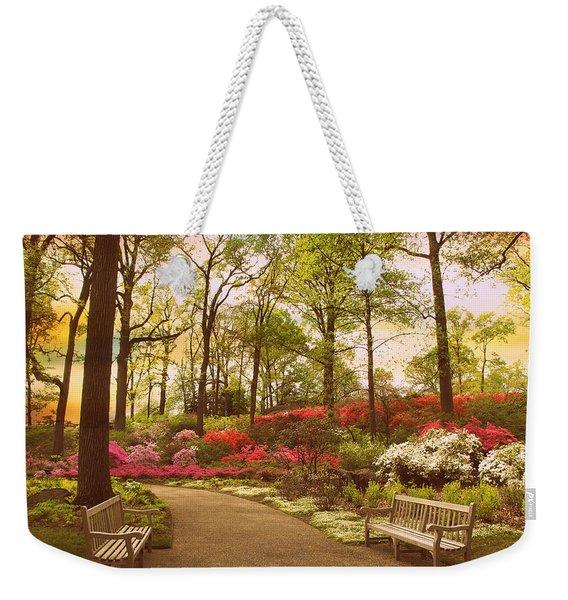 April Azalea  Weekender Tote Bag