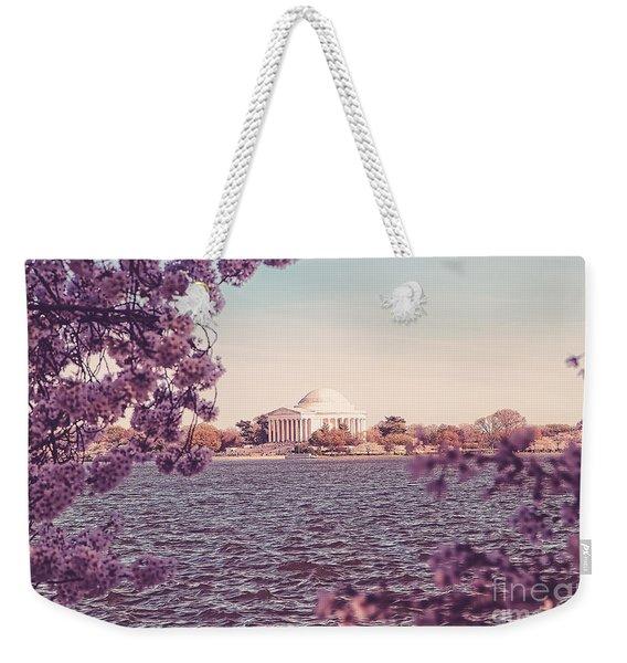 April In Dc Weekender Tote Bag