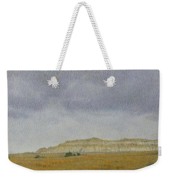 April In The Badlands Weekender Tote Bag