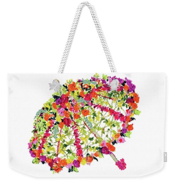 April Showers Bring May Flowers Weekender Tote Bag