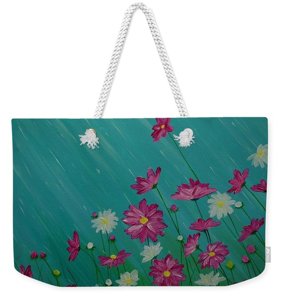 April Showers Weekender Tote Bag