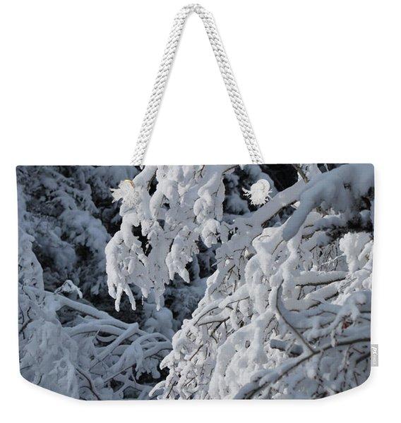 April Snow Weekender Tote Bag