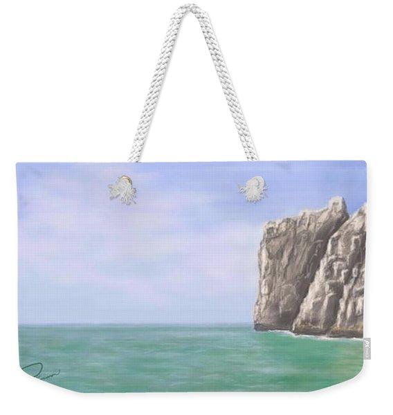 Aqua Sea Weekender Tote Bag