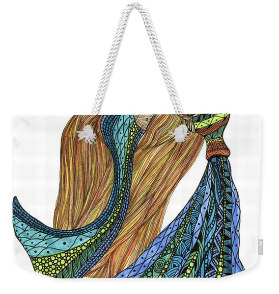 Aquarius Weekender Tote Bag