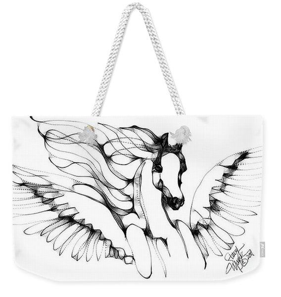 Arabian Angel Weekender Tote Bag
