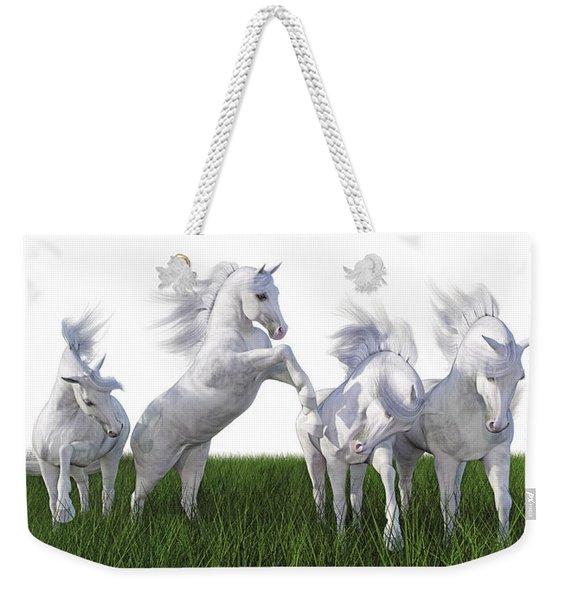 Arabian Fields Weekender Tote Bag