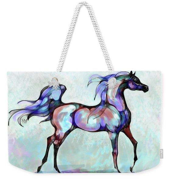 Arabian Horse Overlook Weekender Tote Bag