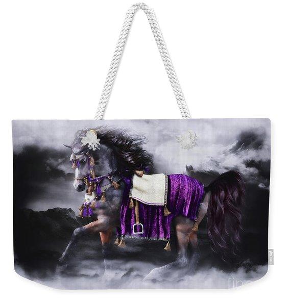 Arabian Horse  Shaitan Weekender Tote Bag