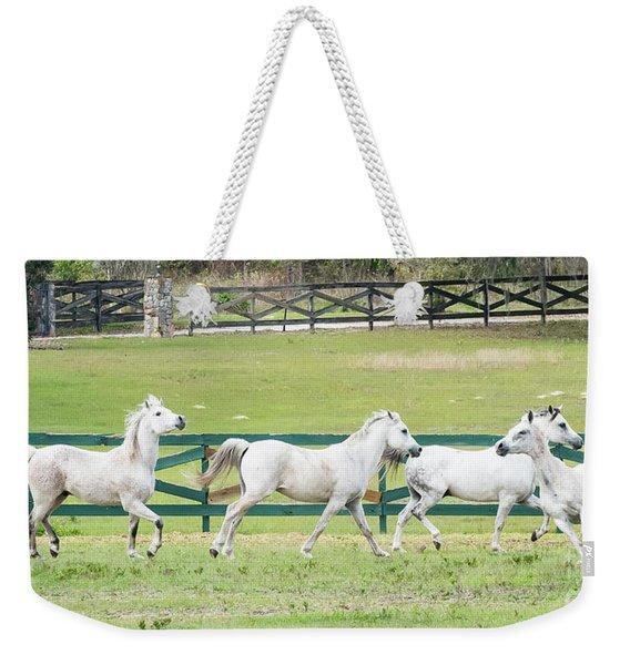 Arabian Horses Weekender Tote Bag