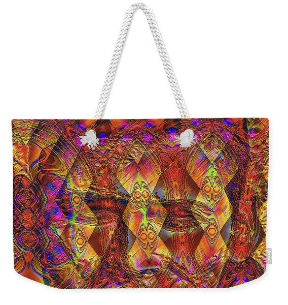 Weekender Tote Bag featuring the digital art Arabian Nights Dream by Visual Artist Frank Bonilla