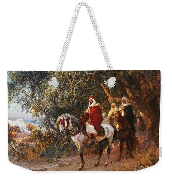 Arabs On Horseback Weekender Tote Bag