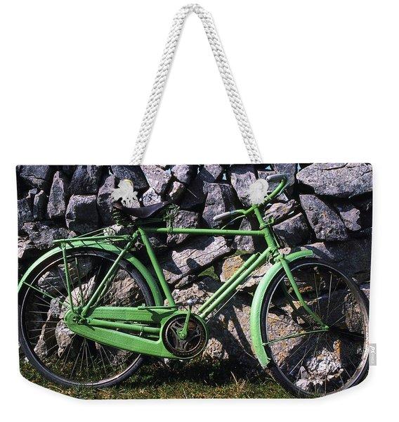 Aran Islands, Co Galway, Ireland Bicycle Weekender Tote Bag