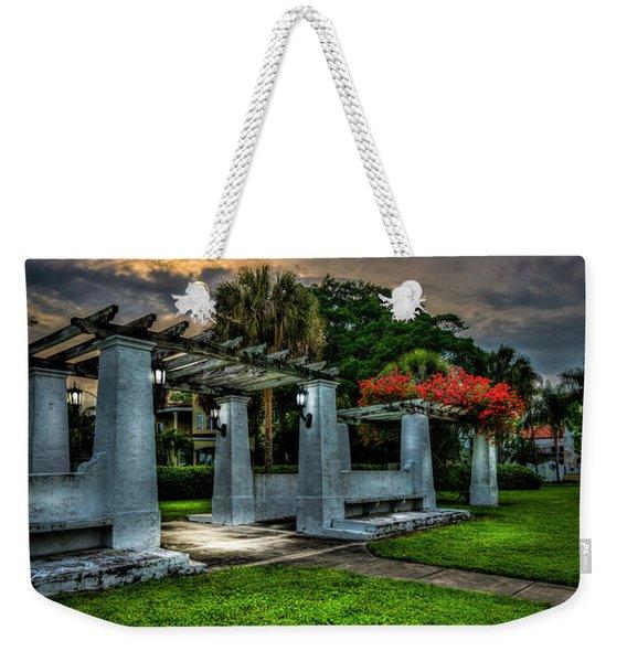 Arbor Sunset Weekender Tote Bag
