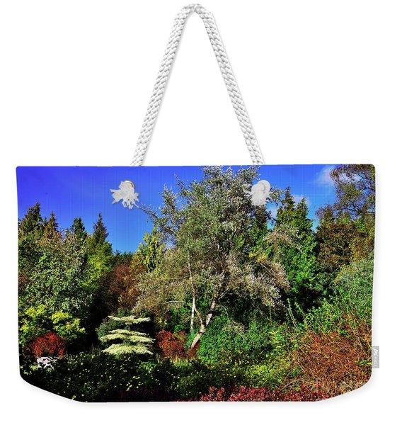 Arboretum Autumn Colors Weekender Tote Bag