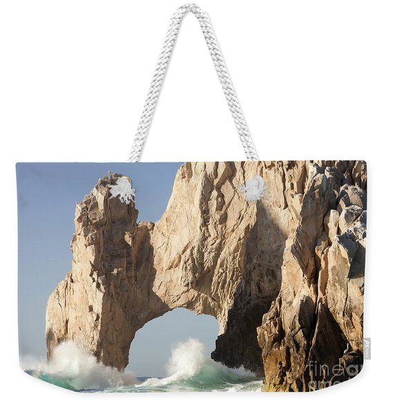 arch at Lands End in Cabo San Lucas Mexico Weekender Tote Bag