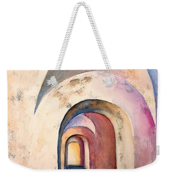 Arch Door Hallway Infinity Weekender Tote Bag