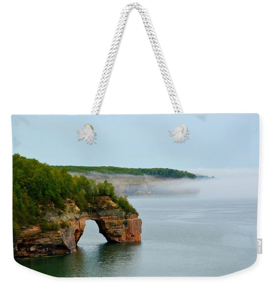 Arch Over Superior Weekender Tote Bag