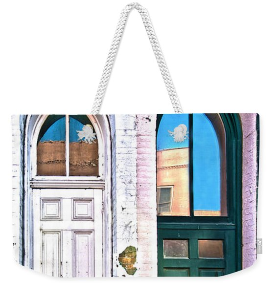 050 - Door One And Door Too Weekender Tote Bag