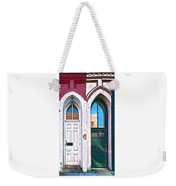 050 - Door One And Door Too Weekender Tote Bag