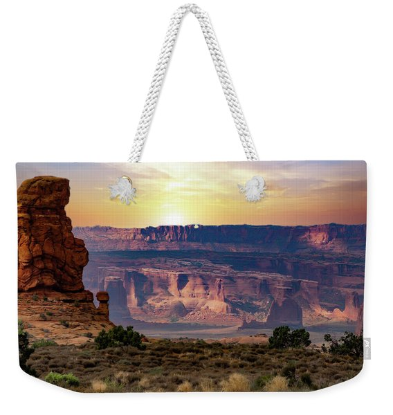 Arches National Park Canyon Weekender Tote Bag