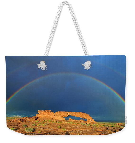 Arches Over The Arch Weekender Tote Bag