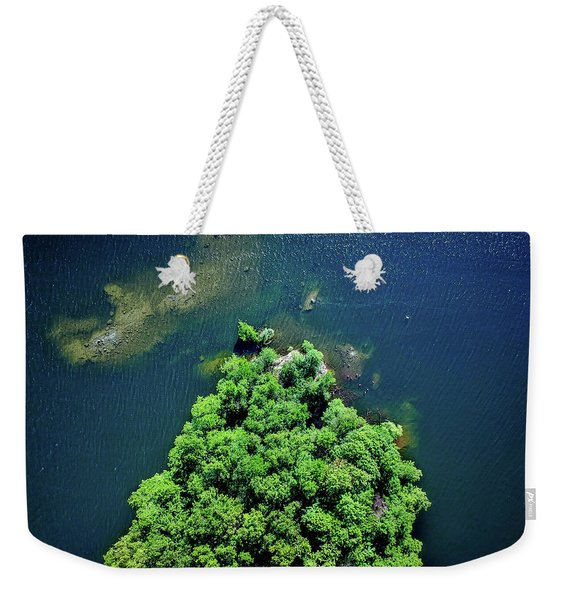 Archipelago Island - Aerial Photography Weekender Tote Bag