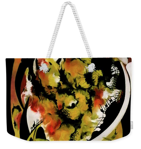 Architectonic Reappearance Of Luminous Information Weekender Tote Bag
