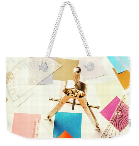 Architects Colour Pallet Weekender Tote Bag