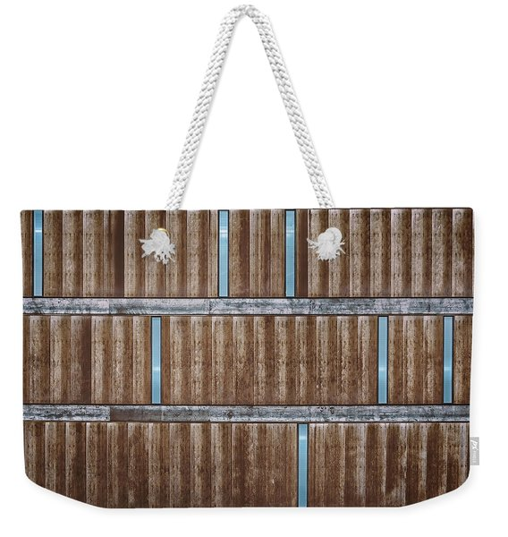 Architectural Dna Weekender Tote Bag