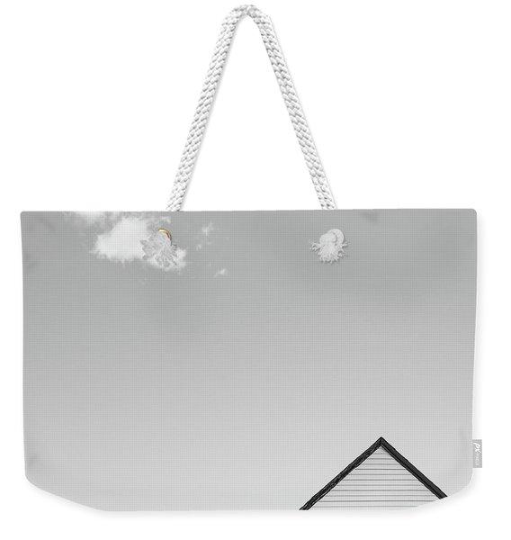 Architectural Ekg Weekender Tote Bag