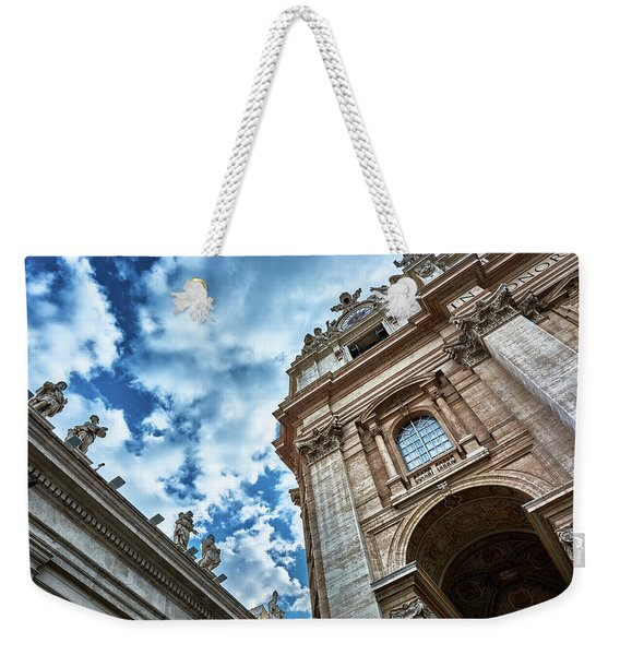 Architectural Majesty On Top Of The Sky Weekender Tote Bag