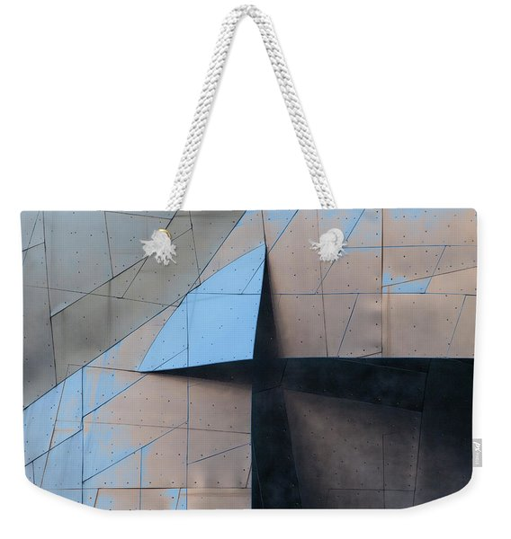 Architectural Reflections 4619f Weekender Tote Bag