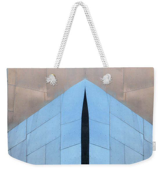Architectural Reflections 4619k Weekender Tote Bag