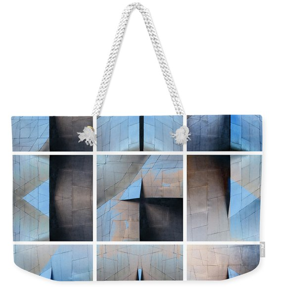Architectural Reflections Nine-print Panel Weekender Tote Bag