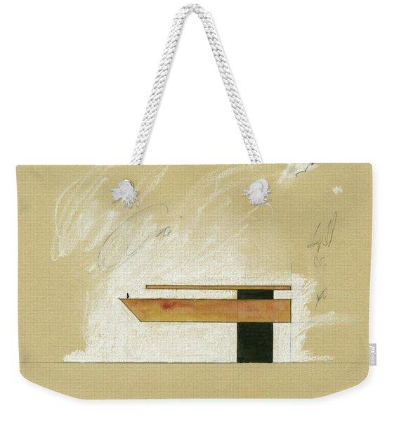 Architecture Sketch Weekender Tote Bag