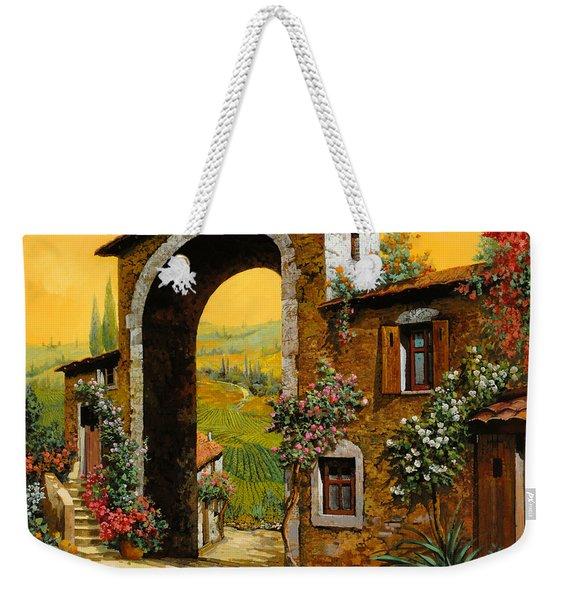 Arco Di Paese Weekender Tote Bag