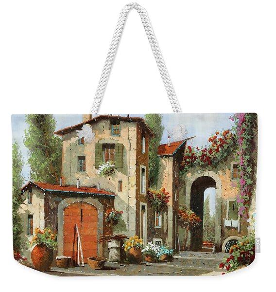 Arco Finale Weekender Tote Bag
