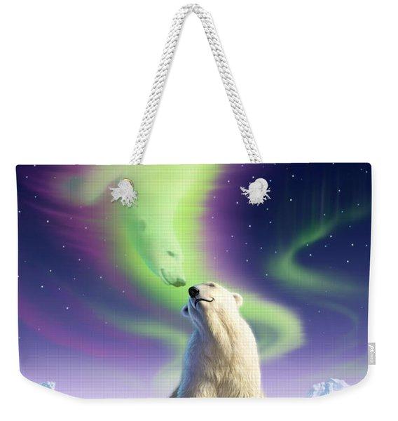 Arctic Kiss Weekender Tote Bag
