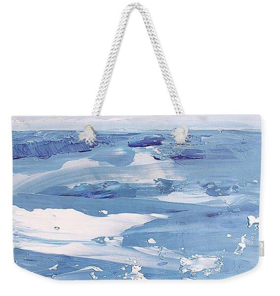 Arctic Ocean Weekender Tote Bag