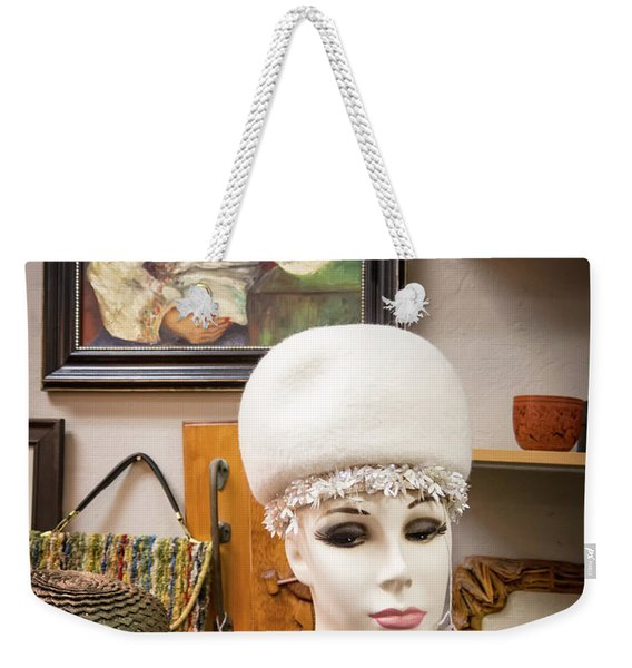 Weekender Tote Bag featuring the photograph Are You Looking At Me by Mary Lee Dereske