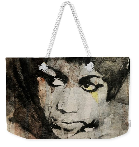Aretha Franklin - Don't Play That Song For Me  Weekender Tote Bag
