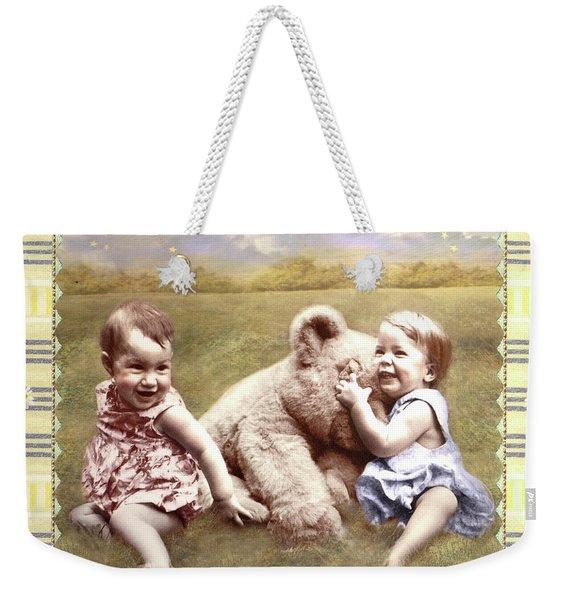 Arial And Emily Weekender Tote Bag