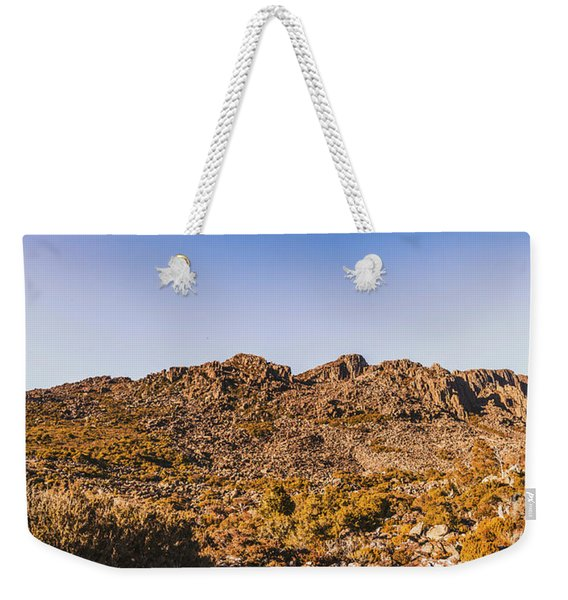 Arid Australian Panoramic Weekender Tote Bag