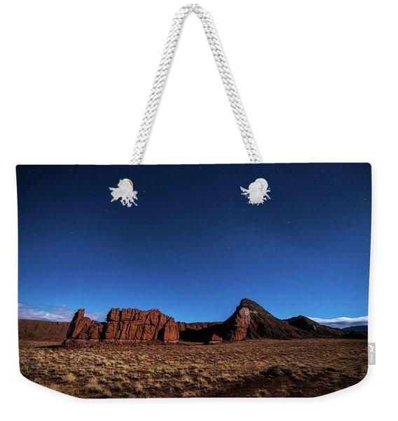 Arizona Landscape At Night Weekender Tote Bag