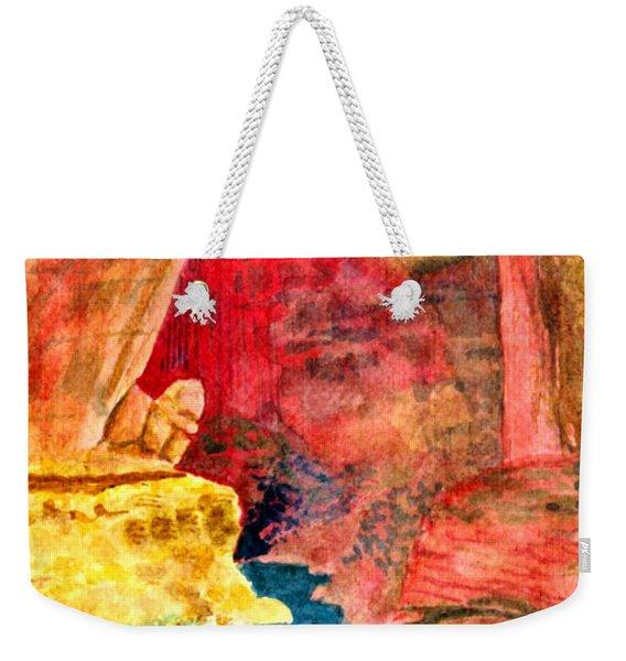 Arizona Rainbow Weekender Tote Bag